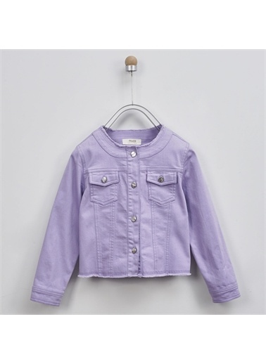 Panço Kız Çocuk Ceket 2011GK22004 Mor